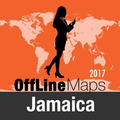 Jamaica mapa offline y guía de viaje
