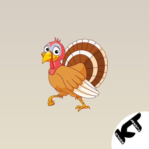 Turkey - Thanksgiving stickers