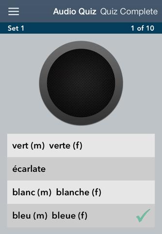 Learn French - AccelaStudy® screenshot 2