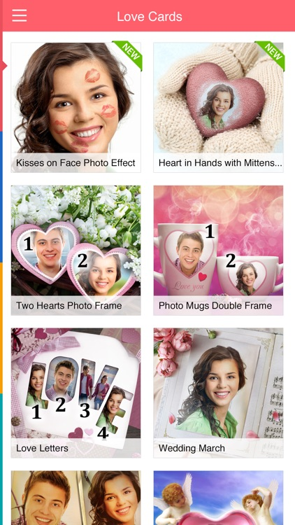 Love Cards: picture frames fun