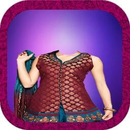 Women Salwar Suits Photo Montage