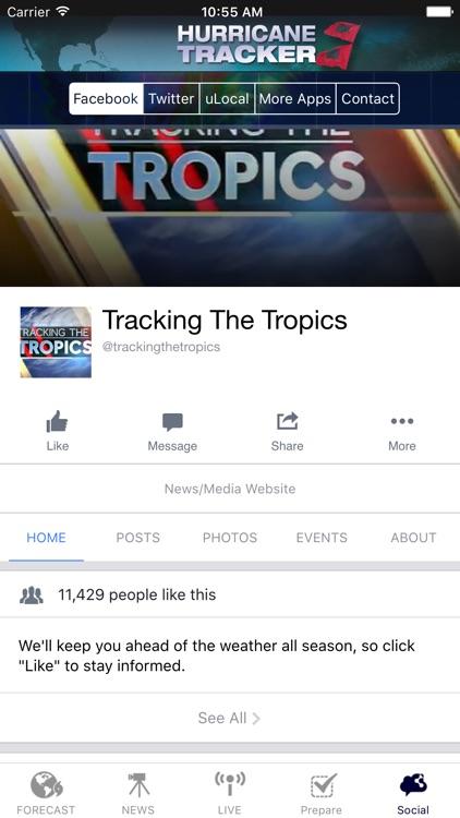 Hurricane Tracker - Tracking the Tropics screenshot-4