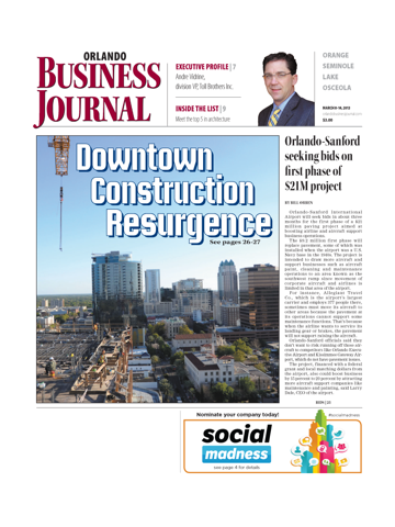 Screenshot of Orlando Business Journal