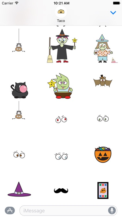 DooDads Halloween Stickers screenshot-3