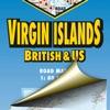 Virgin Islands. Road map.