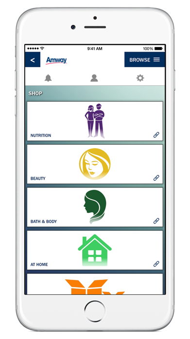 Amway™ App Screenshot