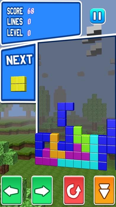 ブロッククラッシュ-無料マインクラフトパズルゲームのスクリーンショット4