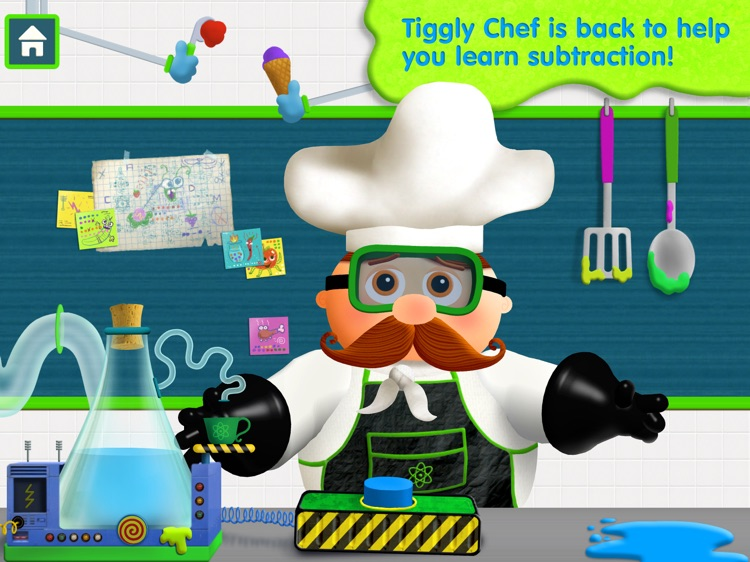 Tiggly Chef Subtraction: 1st Grade Math Game