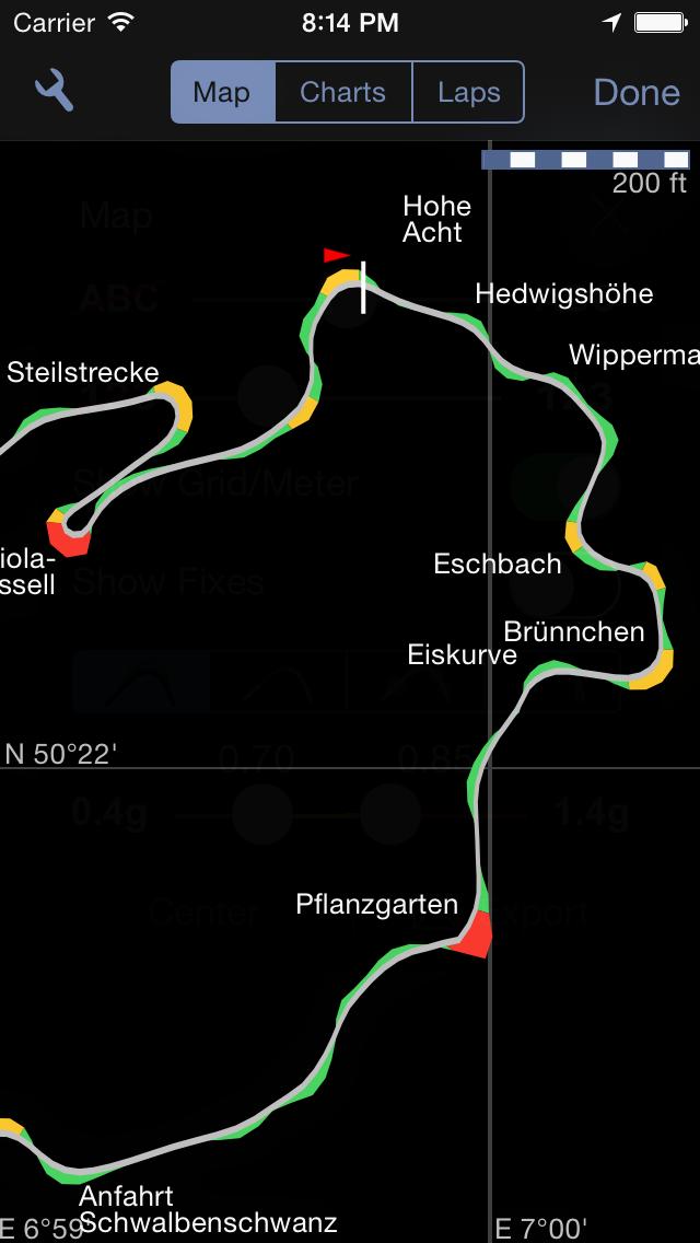 Screenshot for Harry's LapTimer Grand Prix in Austria App Store