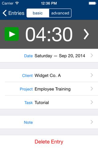 Screenshot of TDF Tracker