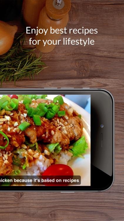 Restaurant Recipes: Food recipes, healthy cooking screenshot-4