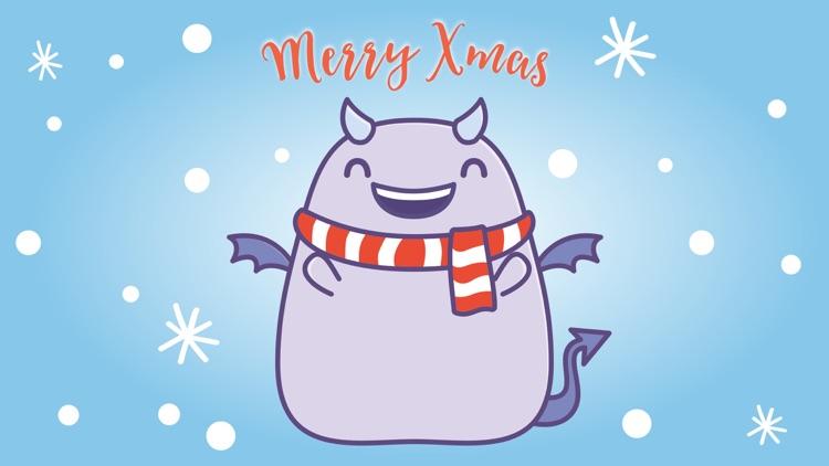 Fattie celebrating Holidays