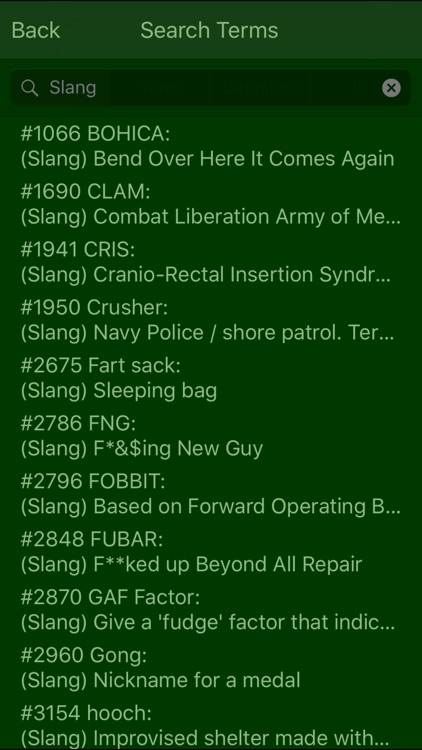Military Terms & Acronyms screenshot-2