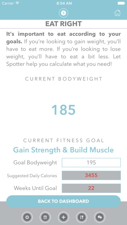 Spotter: Weightlifting Workout and Fitness Tracker screenshot-4