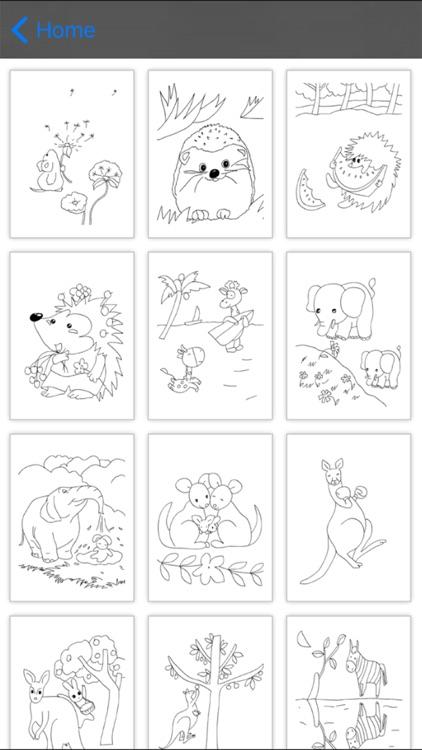 Coloring Book: Animal screenshot-3