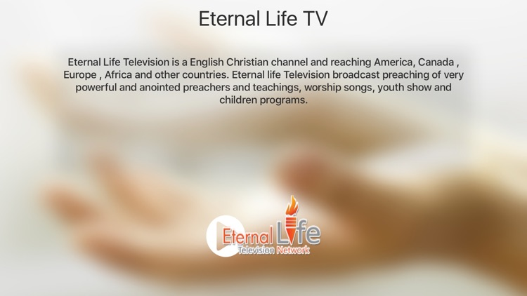 Eternal Life Television for Apple TV by Nida Anwar Masih