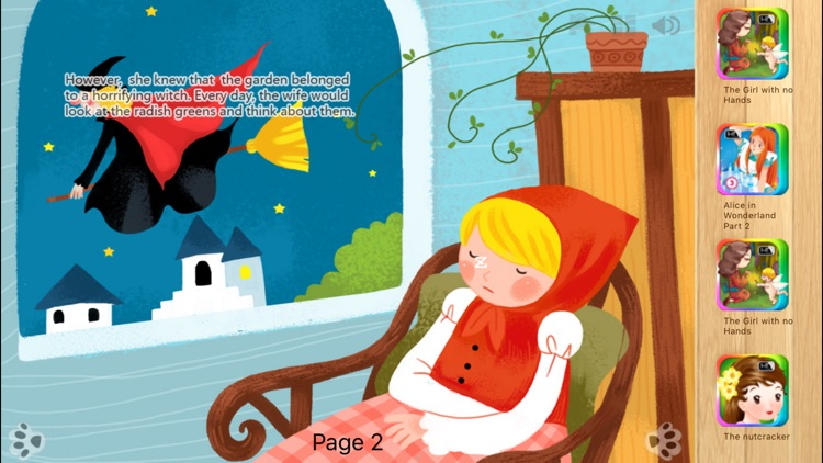 Rapunzel - Bedtime Fairy Tale iBigToy screenshot-3