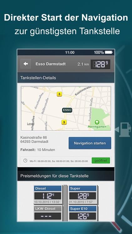 TankenApp mit Benzinpreistrend screenshot-3