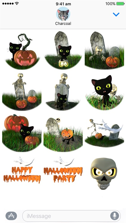 Halloween Stickers - Spooky Fun Sticker Pack