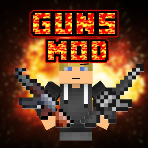 GUN MODS FREE EDITION FOR MINECRAFT PC GAME MODE app logo