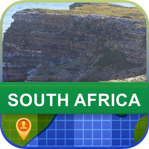 Offline South Africa Map - World Offline Maps icon