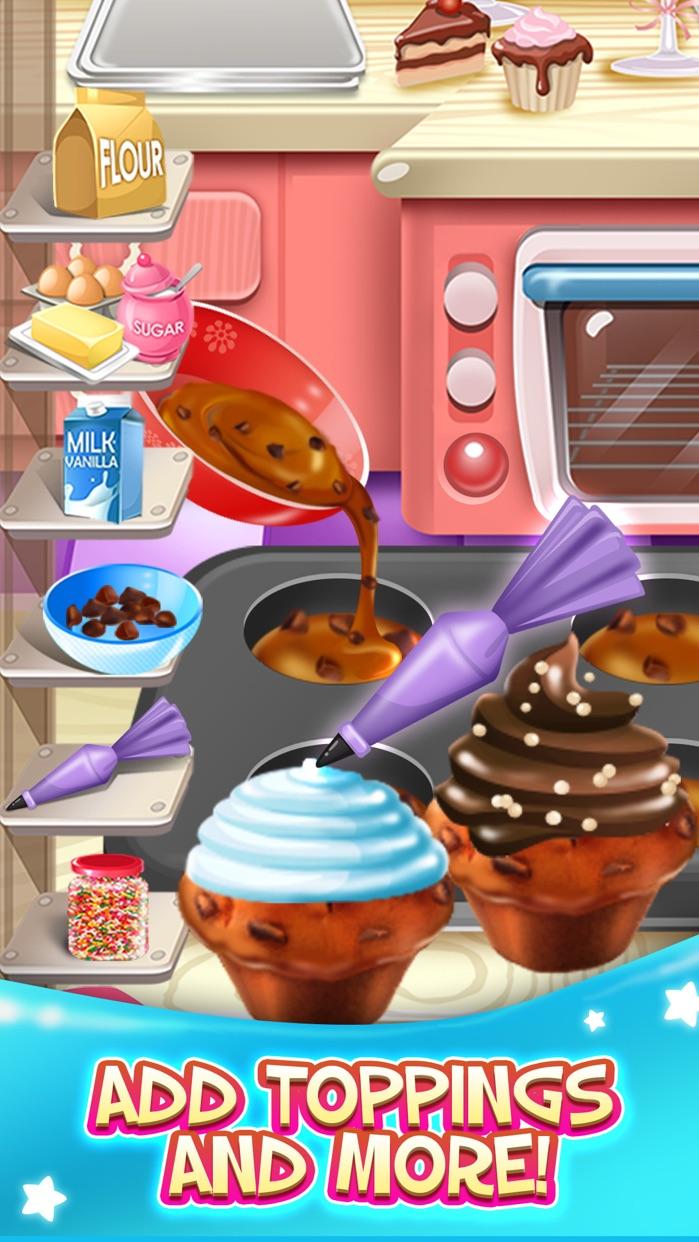 Kids Food Maker Cooking Games (Girl Boy) Free Screenshot