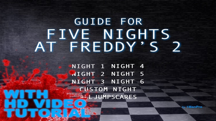 2016 Cheat Guide For Five Nights At Freddy's 2 & 1
