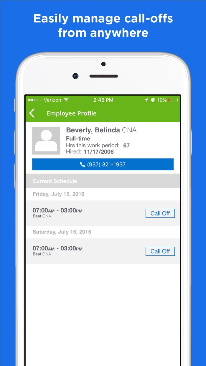 OnShift Mobile – manage your weekly schedules Screenshot