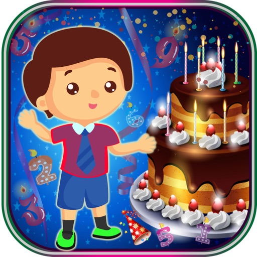 Birthday Party For Kids! Educational Fun Games for Toddler and Preschool Kids icon
