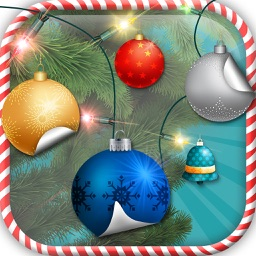 Christmas Tree Decoration & Ornaments Pic Stickers