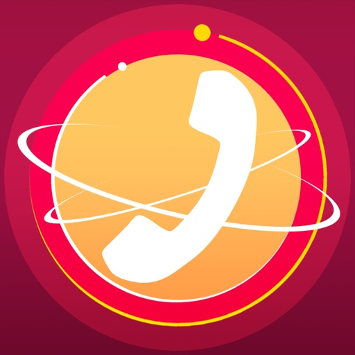 Phoner 2nd Phone Number Anonymous Text + Fake Call application logo