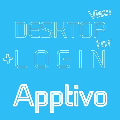 DESKTOP VIEW + LOGIN for Apptivo