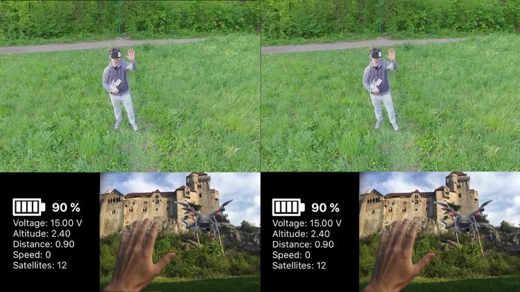 3D FPV - DJI drone flight in real 3D VR FPV screenshot-4