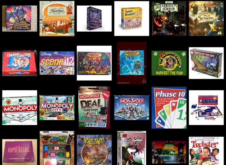 Board Game Collectors for iPad