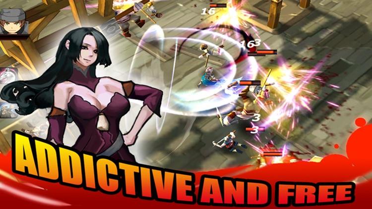 Devil ninja fight:kungfu combat screenshot-3