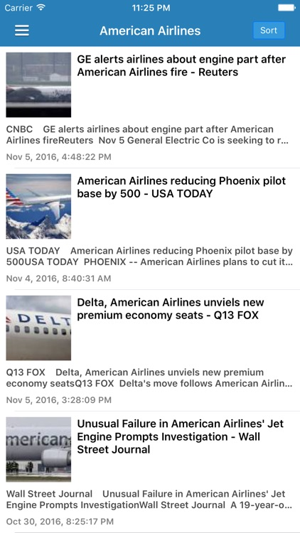 Aviation Airline News Free - Airplane & Drone News screenshot-4