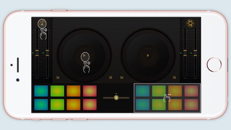 DJ Mixer, remix party music,wedding dj music maker screenshot-3