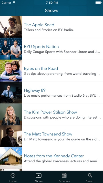BYUradio screenshot-1