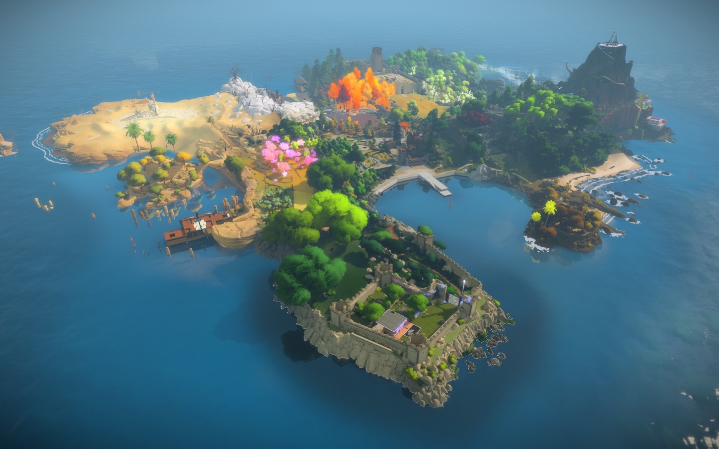 Screenshot do app The Witness
