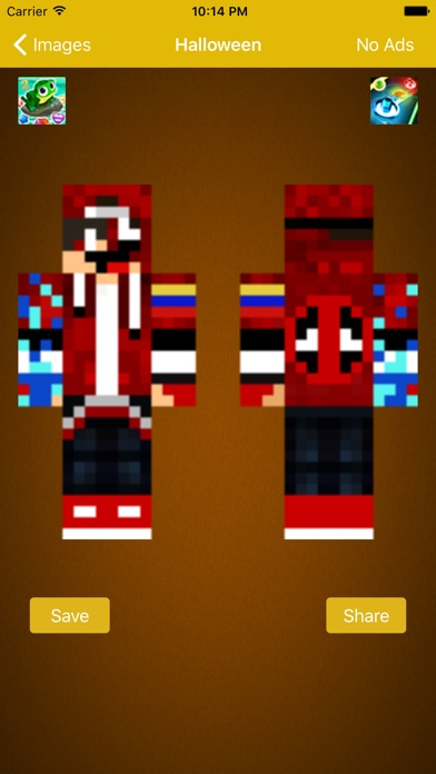 Skin For Minecraft Pocket For Deadpool Fans IOS App Download Version - Deadpool skins fur minecraft