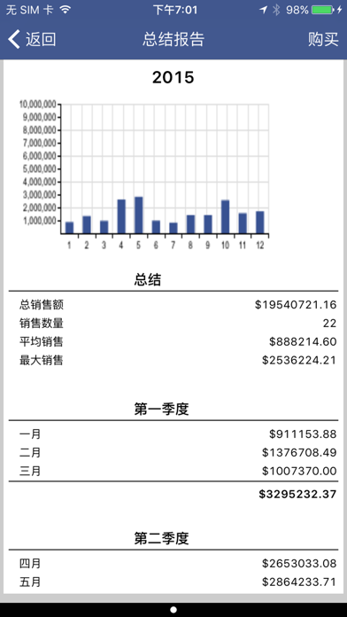 Inventory & Sales Manager屏幕截图4