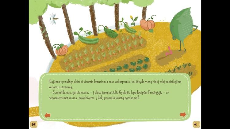 SLIEKAS BEVARDIS: lietuviška interaktyvi pasaka