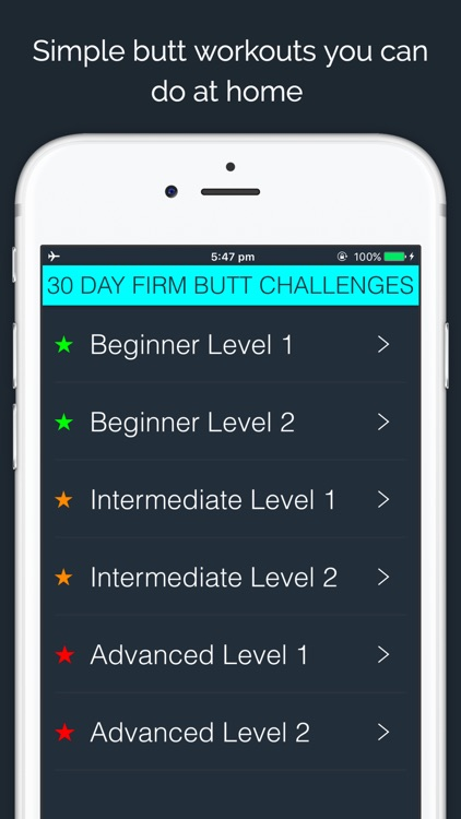30 Day Firm Butt Challenge