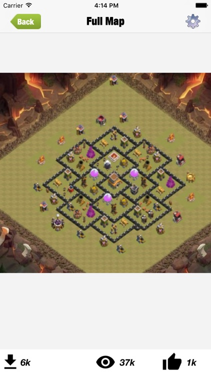 Top layouts for CoC screenshot-3