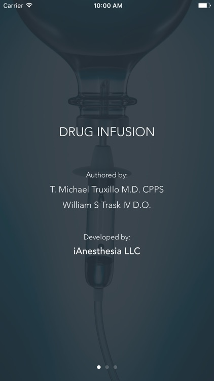 Drug Infusion - IV Med Drip Rate Calculator