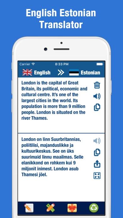 点击获取English-Estonian Translator & Dictionary