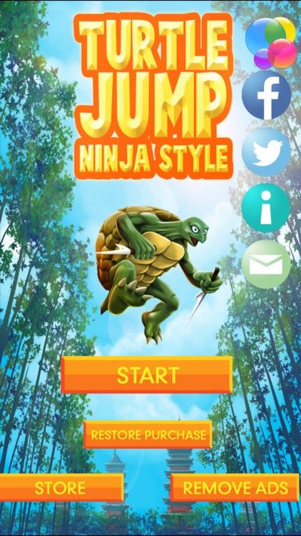 Turtle Jump - Ninja Style