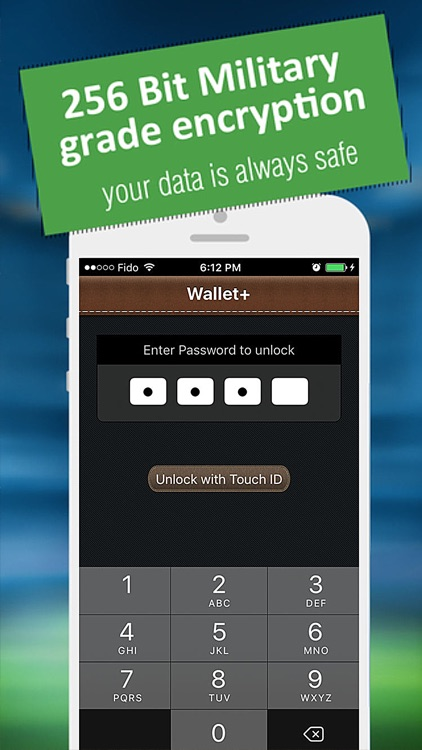 Wallet+ Pro : Secure Wallet on your iPhone