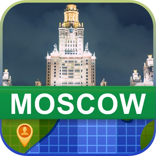 Offline Moscow, Russia Map - World Offline Maps