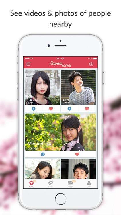 Japan Social - Asian Dating Chat & Meet Japanese
